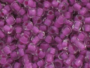 12/0 Color Lined Seed Beads Koraliki Drobne Sutasz Beading Deep Lilac 1.9mm 90g
