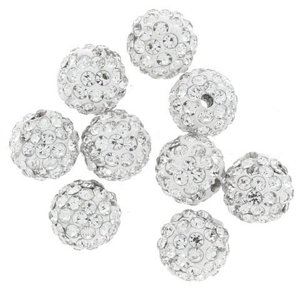 Koraliki do Shamballa Disco Ball Crystal 10mm 10szt Hurt
